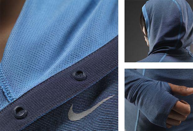 Bluza Nike z kapturem Dri-fit Wool.