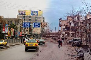 Aleppo przed wojną i dziś
