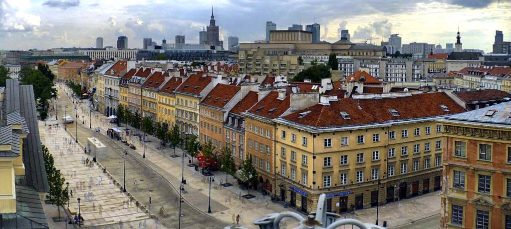 Top 50 najdroższych ulic w Warszawie