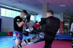 Krzysztof Jotko - trening przed UFC Dublin