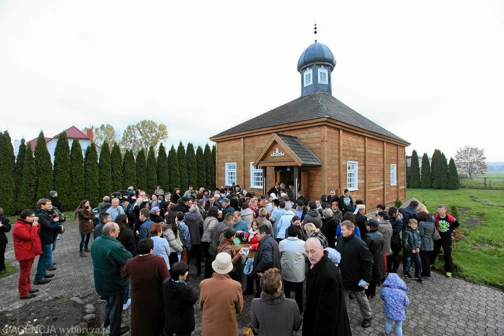 Meczet w Bohonikach (fot. Marcin Onufryjuk / Agencja Gazeta)