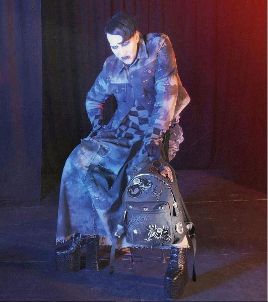 Marilyn Manson w kolekcji dla Marc'a Jacobs'a