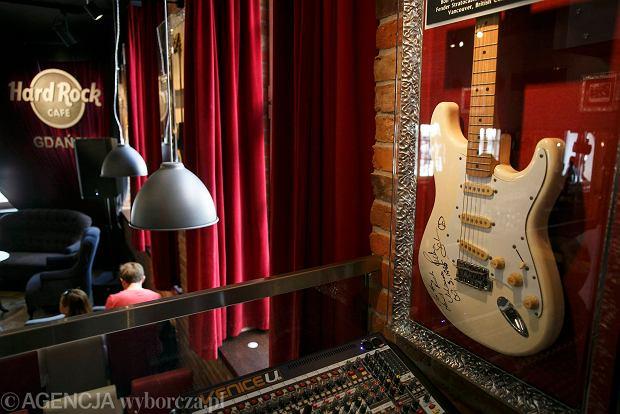 06.07.2014 Gdansk . Hard Rock Cafe w Gdansku . fot. Lukasz Glowala / Agencja Gazeta