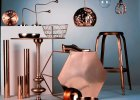 Trend: miedziane meble i dekoracje