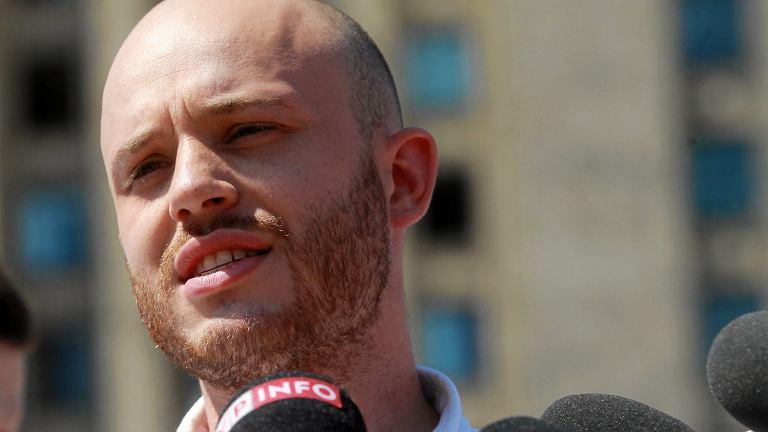 Jan Śpiewak, kandydat lewicy na prezydenta Warszawy.