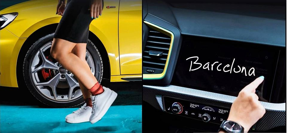 Nowe Audi A1 (teaser)