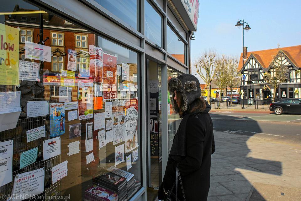 Dzielnica Ealing w Londynie. Polskie sklepy