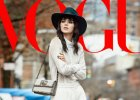 Kendall Jenner  w zupełnie nowej fryzurze na łamach amerykańskiego Vogue. Pasuje jej grzywka?