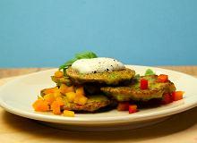 Placuszki brokułowe - ugotuj