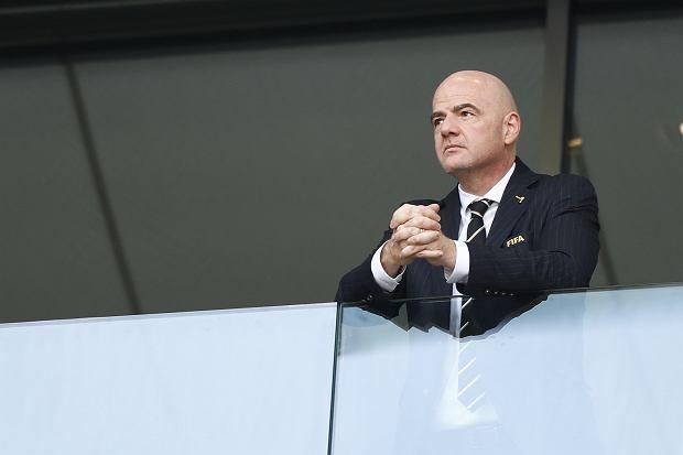 Gianni Infantino, prezydent FIFA