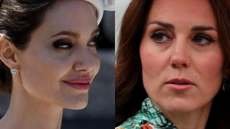 Angelina Jolie jak księżna Kate