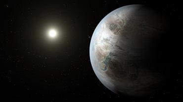 Wizualizacja planety Kepler-452b