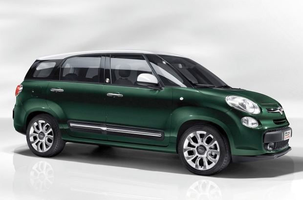 Fiat 500L Living - dla siedmiu osób