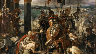 Ferdinand Victor Eugene Delacroix, 'Wjazd Krzyżowców do Konstantynopola'