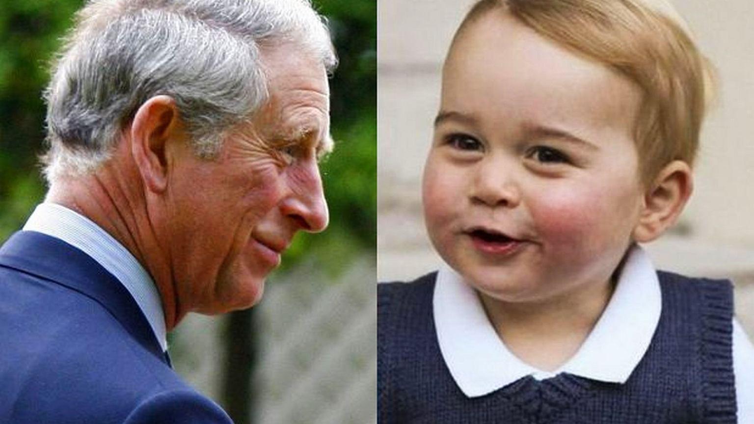 Książę George Otrzymał Od Dziadka Niesamowity Prezent