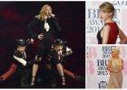 BRIT Awards 2015: Zadziorna Cara Delevingne, elegancka Rita Ora, skromna (!) Kim Kardashian oraz spektakularny upadek Madonny