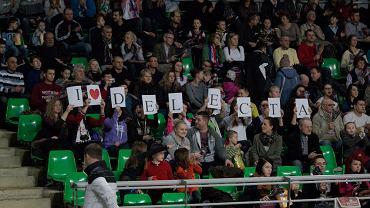 Ćwierćfinałowy mecz Delecta - Lotos