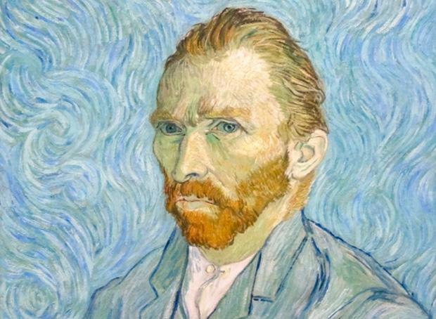 sztuka kochania, erotyka, Historia burdeli, Vincent van Gogh Autoportret