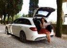 Anna Mucha, Toskania i nowe kombi Mercedesa