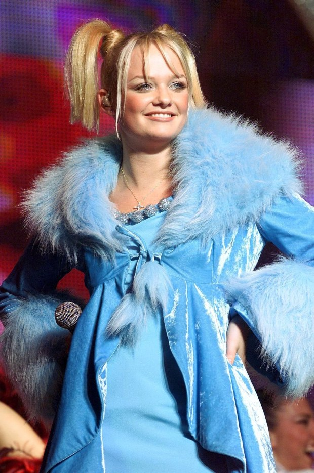 BABY SPICE EMMA BUNTON, SPICE GIRL CONCERT WEMBLEY ARENA  PIC: RICHARD HEATHCOTE / STAR IMAGES