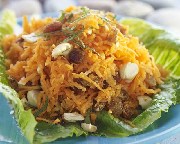 Jamajska słoneczna sałatka