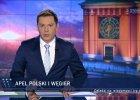 """Już trzeci dzień """"Wiadomości"""" świętują sondaż TNS, a prezydent Duda święci triumfy w Budapeszcie [RECENZJA]"""
