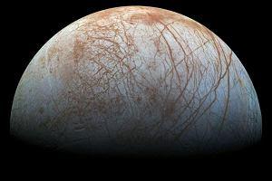 NASA og�asza: Na Europie, ksi�ycu Jowisza, istnieje gigantyczny ocean wody