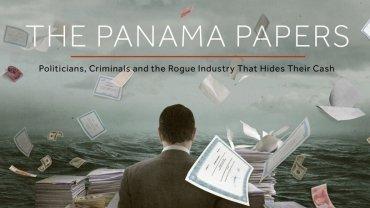 """Zrzut ekranu ze strony opisującej aferę """"Panama papers"""""""