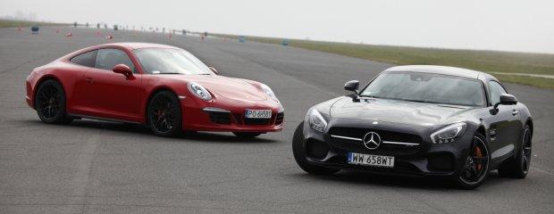 Mercedes-AMG GT S vs. Porsche 911 Carrera 4 GTS   Konfrontacja   Derby Stuttgartu