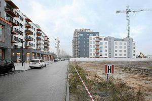 Nowa dzielnica rośnie w oczach. Zamiast fabryk i torów
