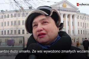 """""""Ludzkie  trupy wywozili wozami"""". Mieszkańcy Kijowa wspominają Wielki Głód"""