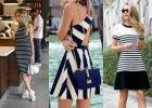 3 stylizacje z sukienką w paski na wiosnę