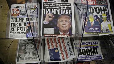 Prawdziwe nagłówki prasowe po raz pierwszy przegrały z fałszywymi - w internecie. Jednak popularność prasy papierowej nadal spada