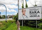 Aborcja i nowotwory na billboardzie. Lekarze zaprzeczają tezie