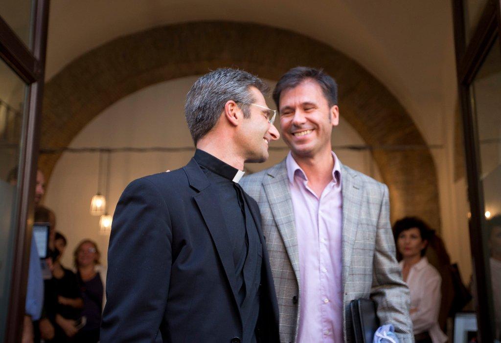 APTOPIX Vatican Gay Priest