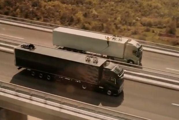 Wyjątkowa reklama ciężarówek Volvo