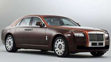 Rolls-Royce'a Ghost One Thousand and One Nights Edition