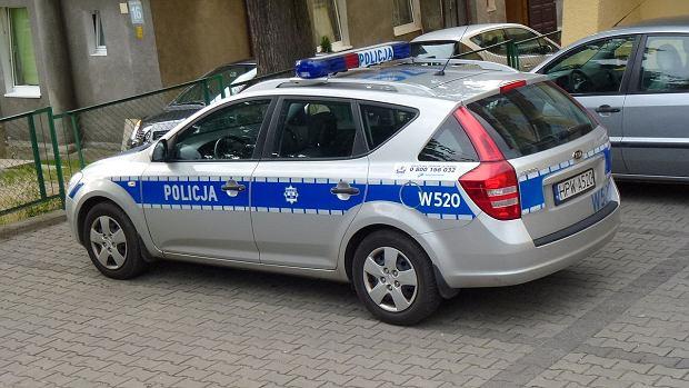 Radiowóz Policyjny przy Komendzie w Międzyzdrojach woj. zachodniopomorskie, pow kamieński
