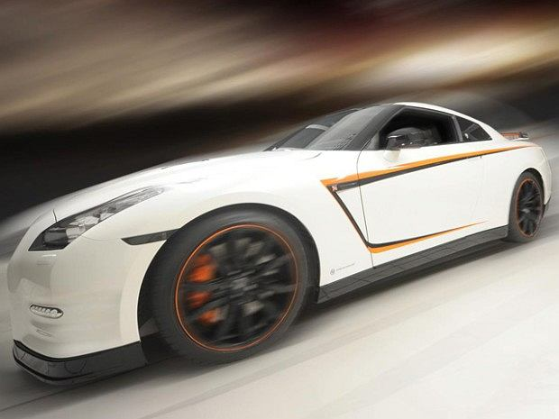Nissan GTR Orange Edition