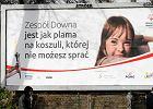"""""""Zespół Downa jest jak plama"""" na billboardzie. """"To frustrujące, ale dobrze, że mówimy o problemie"""""""