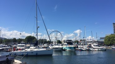 Koło widokowe w Gdyni będzie dostępne dla turystów i mieszkańców od 17 czerwca