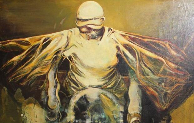 Złodzieje ukradli ten mroczny obraz 14 lat temu. Wpadli. Na aukcji chcieli za niego 12 tysięcy