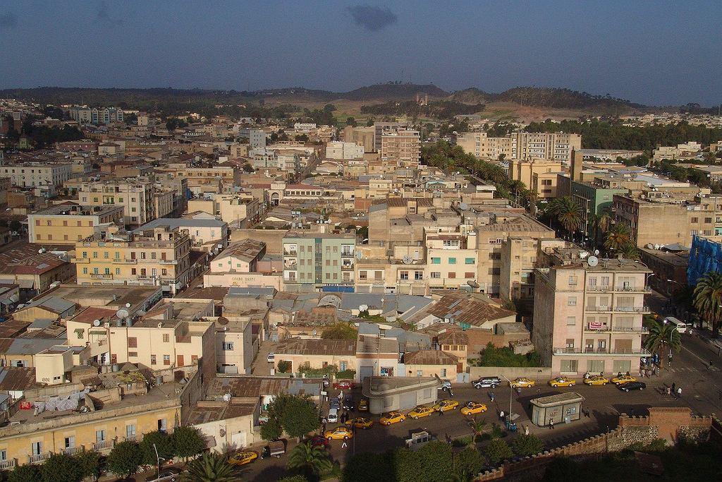 Asmara, stolica Erytrei