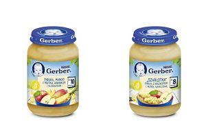 Musli, jogurt, szarlotka i nutka ananasa dla najmłodszych, czyli o nowych deserkach Gerber