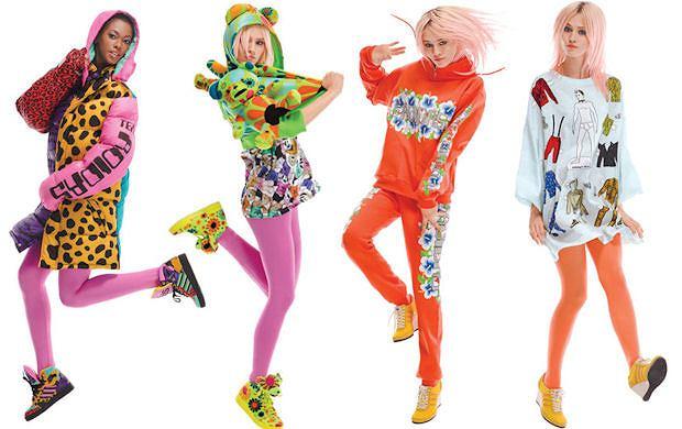 Jeremy Scott dla adidas Originals - pluszaki, skrzyd�a i krzykliwe kolory