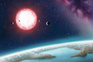 Odkryto uk�ad planetarny, w kt�rym jest druga Ziemia. Radioteleskopy ju� szukaj� sygna��w od obcych