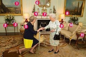 Theresa May i kr�lowa El�bieta
