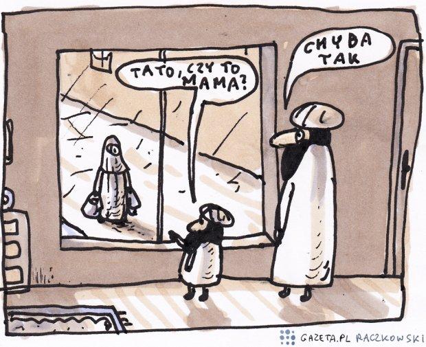 O tęczy, aborcji i papieżu. Oto najpopularniejsze rysunki Marka Raczkowskiego