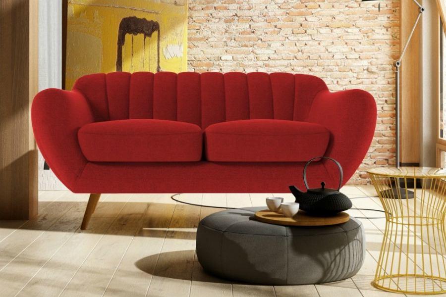 Stylowa sofa 2-osobowa