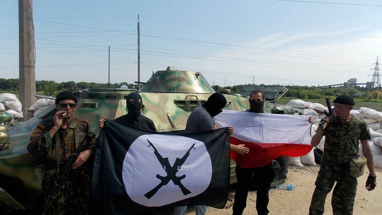 Polscy narodowscy pośród separatystów w Doniecku